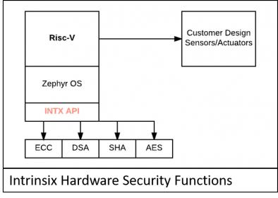Intrinsix hardware security functions